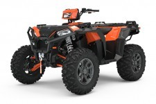 ATV Polaris. Pilt on illustreeriv.